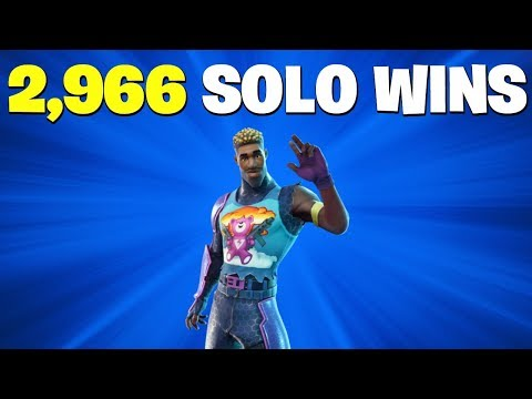 2,960 Solo Wins   Fortnite Live Stream   Tilted Towers Destroyed?   New Skins   Season 4