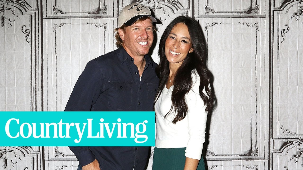 Chip and Joanna Gaines' Real-Life Love Story | Country Living