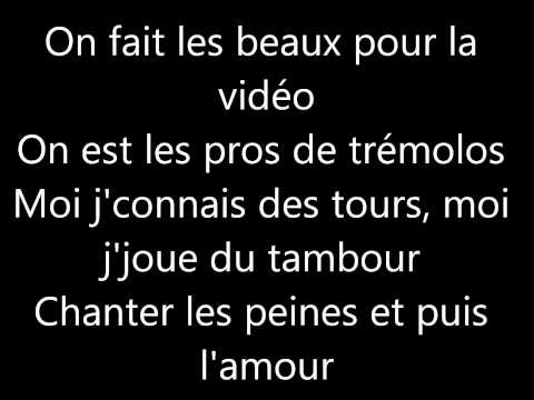 Les Enfoirés- Attention au départ lyrics