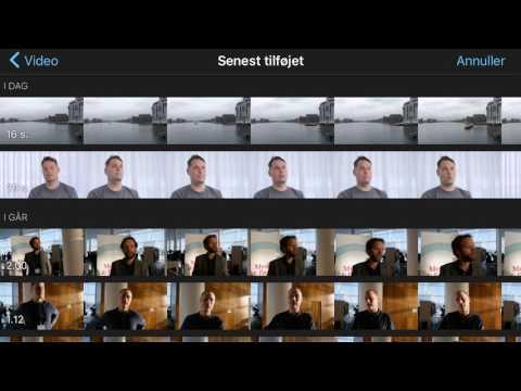 Redigering - overliggere og picture-in-picture