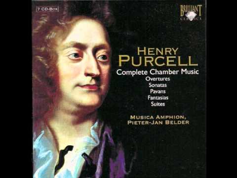 Henry Purcell - Suite in D minor - Z 668 - Harpsichord - Pieter-Jan Belder