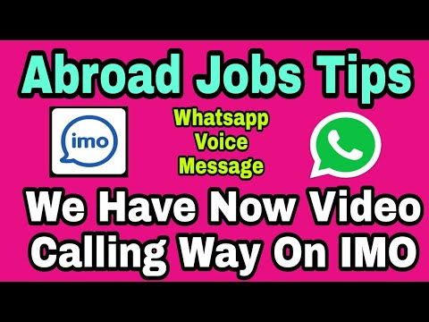 Abroad Jobs Tips Now We Have Video Call Way For You Whatsapp