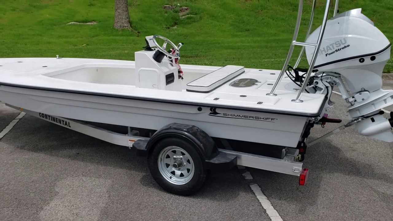 Skimmer Skiff 16 Finished Deck by Big Frank's Outdoors