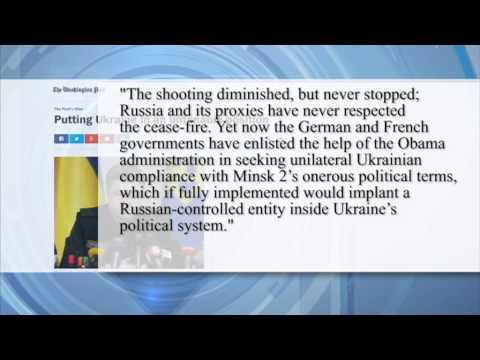 Press Review: Should the Ukrainian government forsake militant-held regions?