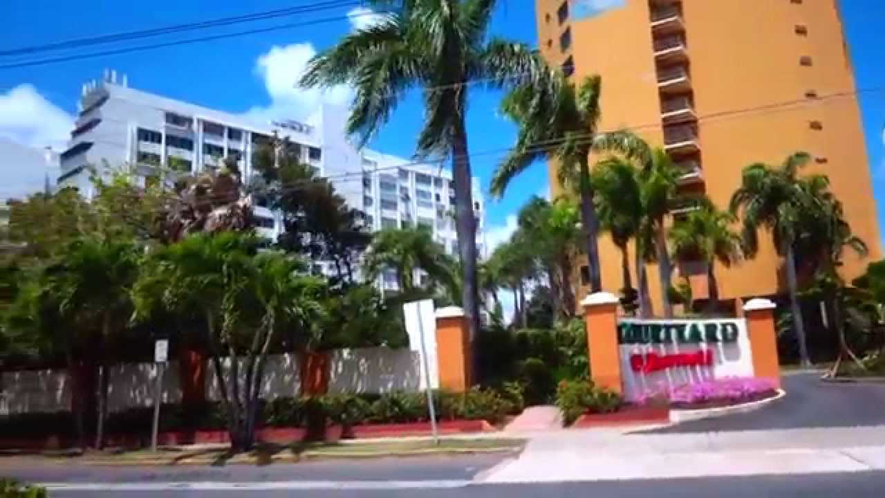 Ride From Sju Airport To The Marriott Courtyard Isla Verde Beach Resort