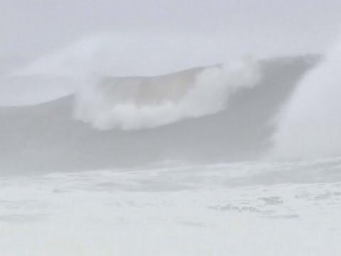 Raw: Typhoon Lionrock Takes Aim at NE Japan