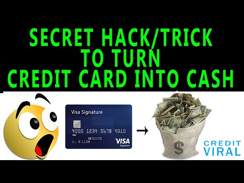 Secret Trick To Turn Credit Card Into Cash! Credit Card Hack!Convert Credit Into Cash Complete Guide