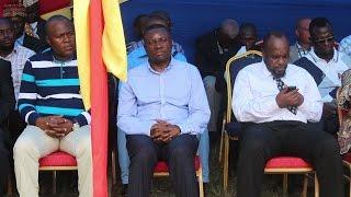 NGOYI KASANJI à la Messe pour la Paix à Miabi et Kabeya Kamuanga