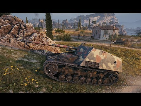 World of Tanks Nashorn - 동영상