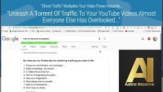 How To Unleash A Torrent Of Traffic To Your YouTube Videos
