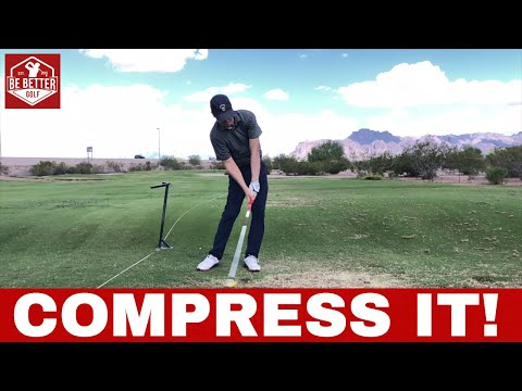 SHAFT LEAN at impact, DST compressor Before and After, 1st session GOLF
