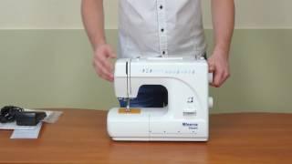 Распаковка швейной машины Minerva Classic