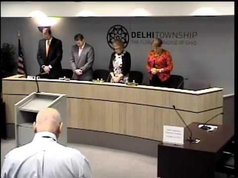 10-12-2016 Delhi Township Board of Trustees Meeting