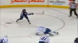 Zach Redmond First NHL Goal | 02.07.2013