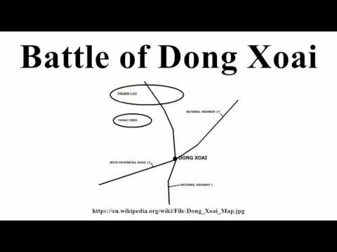 Battle of Dong Xoai