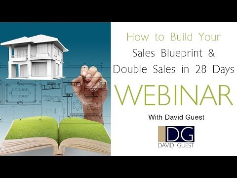 How to Build your Sales Blueprint and Double Sales in 28 days...