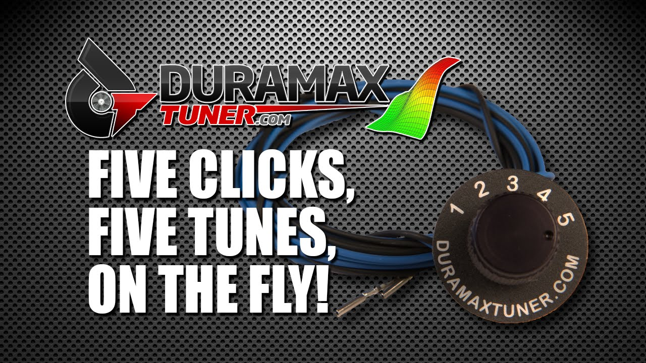 FIVE POSITION ON THE FLY TUNING SWITCH by Duramaxtuner COM