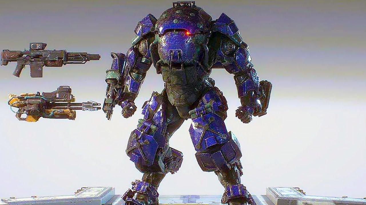 ANTHEM - New Colossus Javelin Gameplay Demo (2019)
