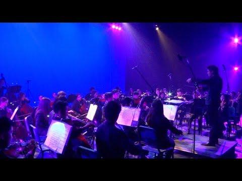 "2019 Winston Churchill High School Orchestra Presents ""New Journeys""."