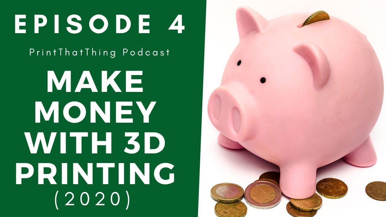 Make Money with 3D Printing & Design (Top Tips)