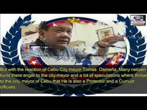 Cebu City Mayor Tomas Osmeña will NOT Help the PNP in Their Campaign Against Drugs and Corruption
