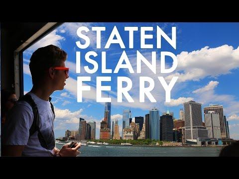 Staten Island Ferry : Fulltime RV in NYC w/9 kids