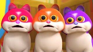 trzy may kotek three little kitten little treehouse piosenki dla dzieci po polsku koysanki