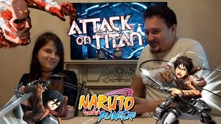 Обзор DSK и Hotaru на аниме Атака титанов (18+)