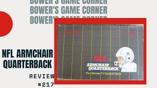 Bower's Game Corner: NFL Armchair Quarterback Review