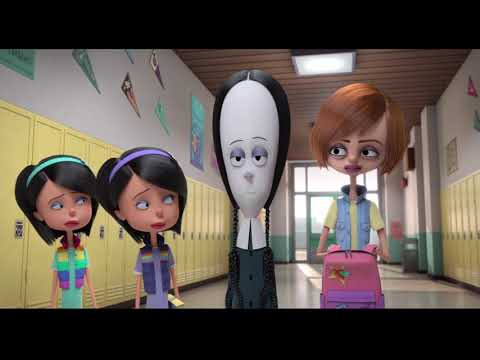 The Addams Family - Wednesday Goes to School Scene - HD (1080p)