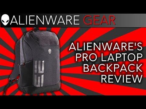 Alienware's m15/m17 Pro Laptop Backpack Review w/ Ernie