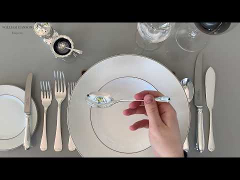 How To Use And Hold Cutlery