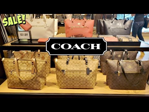 Coach OUTLET Purse SHOPPING Up To 80% OFF * WALKTHROUGH 2020