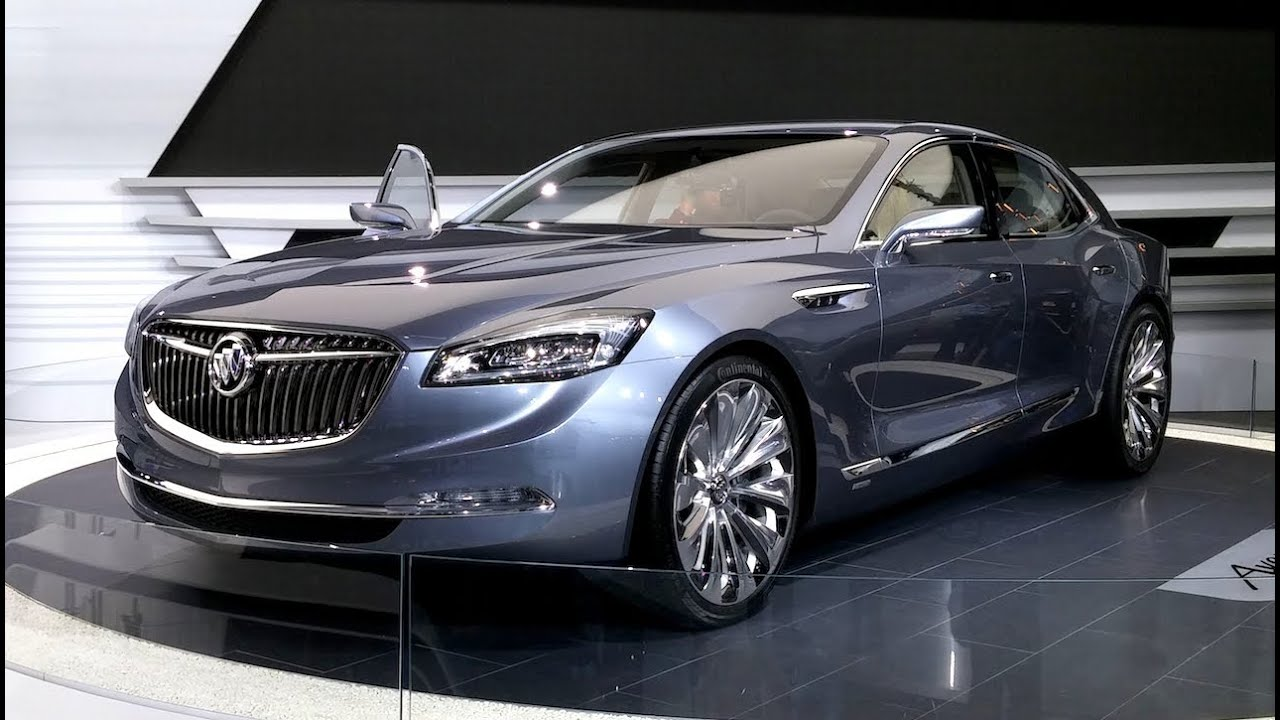 buick avenir concept car 2015 detroit auto show youtube. Black Bedroom Furniture Sets. Home Design Ideas