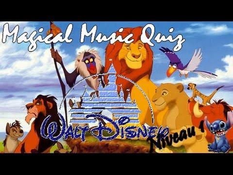 Magical Music Quiz Disney niveau 1