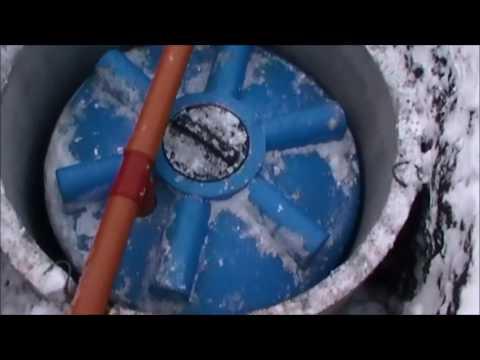 Сбор дождевой воды в подземные ёмкости или сброс её в дренажный колодец