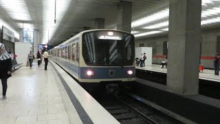 [München U-Bahn] MVG-Baureihe B U2 - Scheidplatz