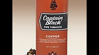 Quick Pipe Tobacco Reviews: Captain Black Copper