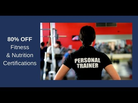 Save up to 80% on your Fitness Education & Personal Trainer ...