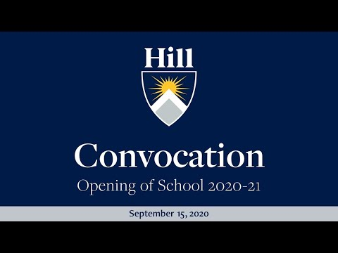 The Hill School Convocation