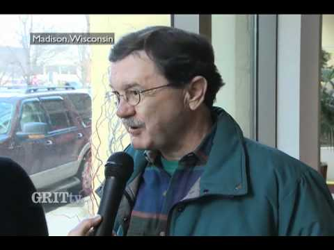 GRITtv: Jim Hightower and Peg Lautenschlager