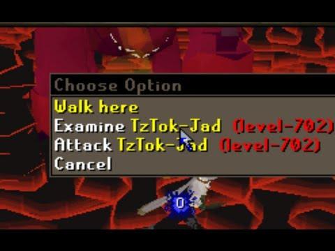 Amazing method to kill Jad in RuneScape 07