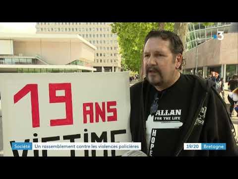 Rennes : un rassemblement contre les violences policières et