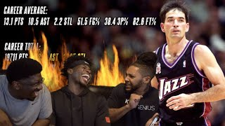 WHY John Stockton is OVERRATED!! Reaction