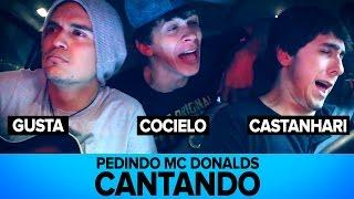 PEDINDO MC DONALDS CANTANDO Ft Cocielo e Gusta