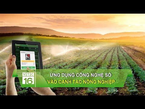 Ứng dụng công nghệ số vào canh tác nông nghiệp   VTC16