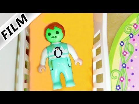 Playmobil Film deutsch | EMMA KOTZT IM SCHLAF! KEINER SOLL ES MERKEN | Kinderserie Familie Vogel