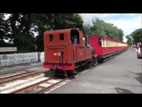Isle of Man Steam Railway - July and August 2016