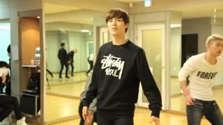 【Kstyle】NU'EST、デビュー2周年記念ライブ練習風景~「Action」Left編~