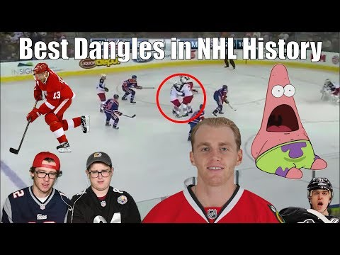 Best Dangles in NHL History Reaction